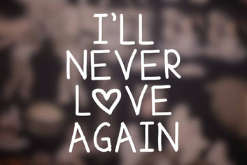 i ll never love again joie bauer